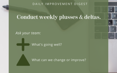 Daily Improvement Digest