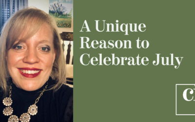 A Unique Reason to Celebrate July by Amy Jenkins